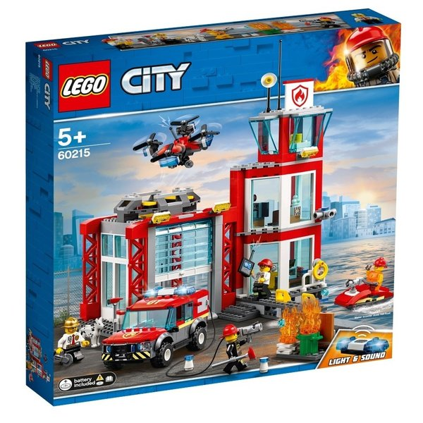 レゴシティ60215消防署