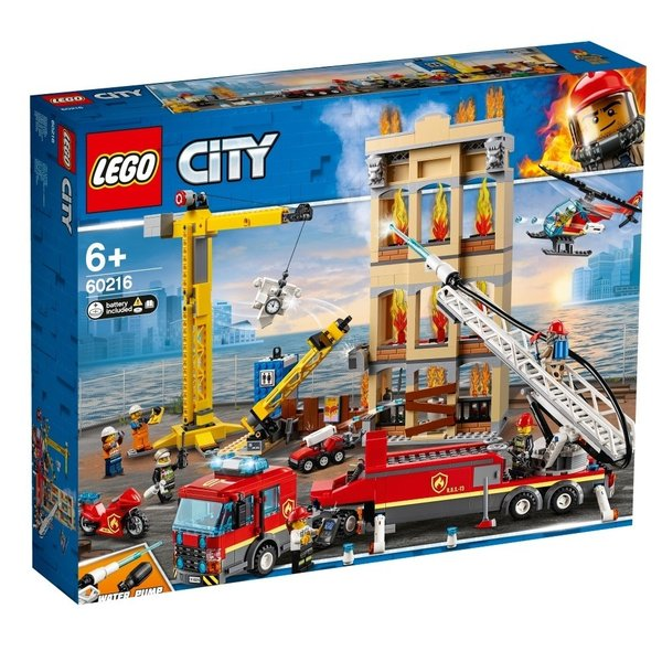 レゴシティ60216レゴシティの消防隊