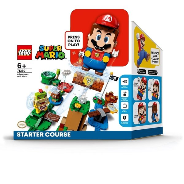 オンライン 価格 レゴスーパーマリオ71360レゴ(R)マリオとぼうけんのはじまり〜スターターセット