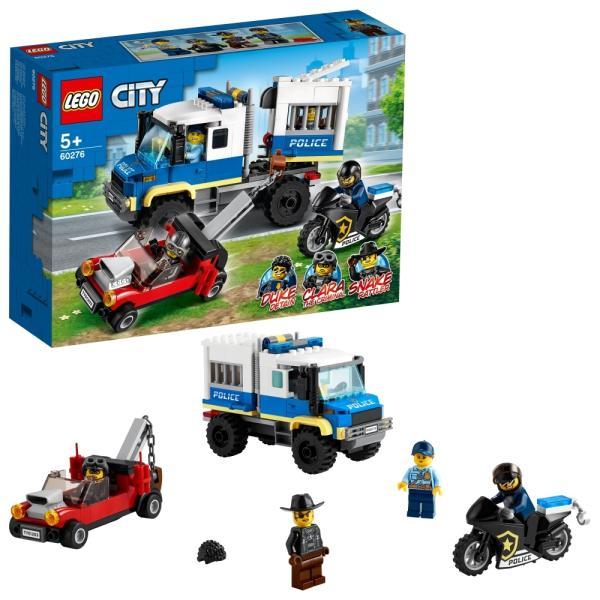 レゴシティ60276ドロボウの護送車