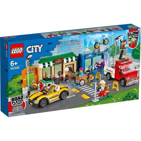 トイザらス レゴシティ60306レゴシティのショッピングストリート