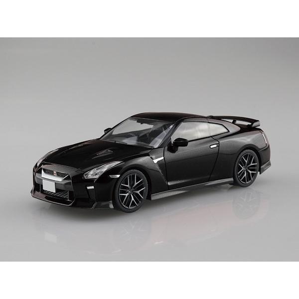 プラモデル 1/32 ザ・スナップキット No.07C NISSAN GT-R メテオフレークブラックパール