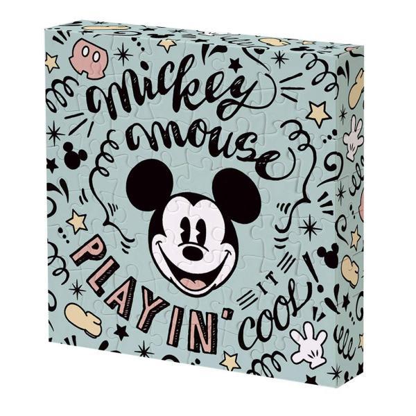 ジグソーパズル 56ピース ディズニー ミッキーマウス 11x11x2cm 2303-06
