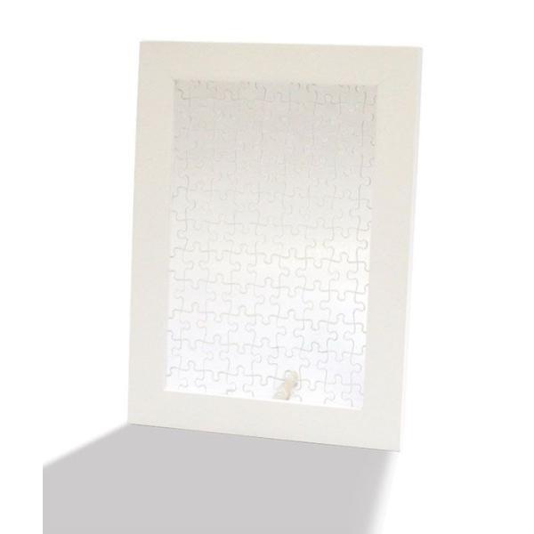 ジグソーパズル プリズムプチ専用木製フレーム プリズムアート Petit FRAME ホワイト 10060-8002 ラッピング不可