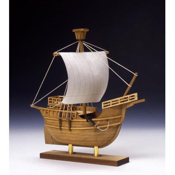 ウッディジョー 木製帆船模型 ミニ帆船 No.4 カタロニア船 送料無料