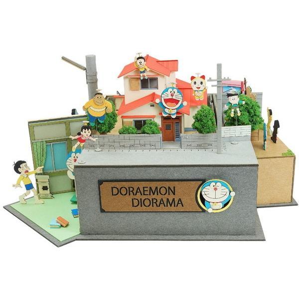 ペーパークラフト みにちゅあーとキット ドラえもんシリーズ ドラえもんジオラマ ドラえもん50周年記念 MK10-03 送料無料