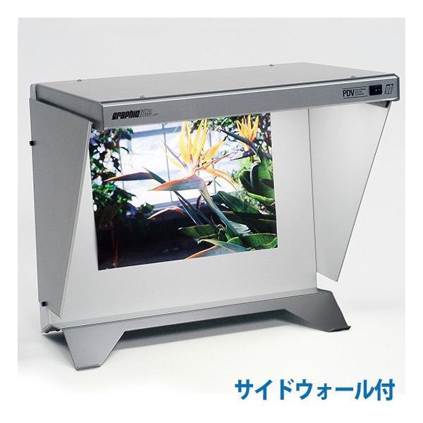 GTI デスクトップ・プリントビュアー PDV-2e/SW サイドウォール付