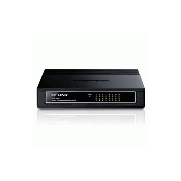 16ポートスイッチングハブ プラスチック筺体 ポイント最大16倍 TP-Link 10/100Mbps TL-SF1016D 5年保証