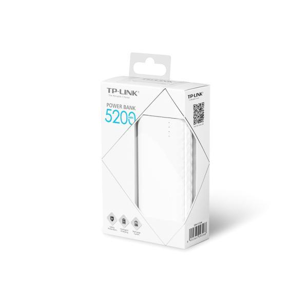 【電池切れずにゲットだぜ!】TP-Link 超コンパクトモバイルバッテリー 5200mAh急速充電可能 iPhone / iPad /ipod/ アンドロイド各種対応 TL-PB5200|tplink|05