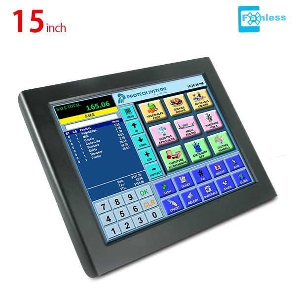 15インチ ファンレス タッチパネルPC PA-6722 プロテックシステムズ|tppc-kan