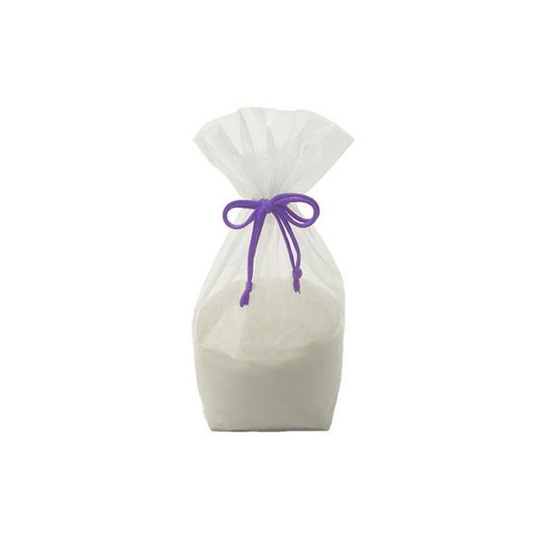 巾250mm×マチ118mm×長さ350mmアサヒパック 紫結び袋 中袋 (200枚入り)