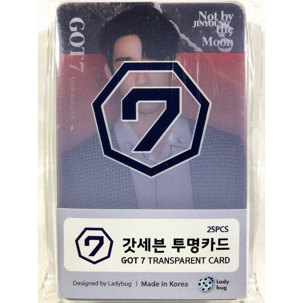 f382d17aa0a3 GOT7 ガットセブン ガッセブン グッズ / 透明 フォトカード TRANSPARENT CARD 25枚セット [TradePlace