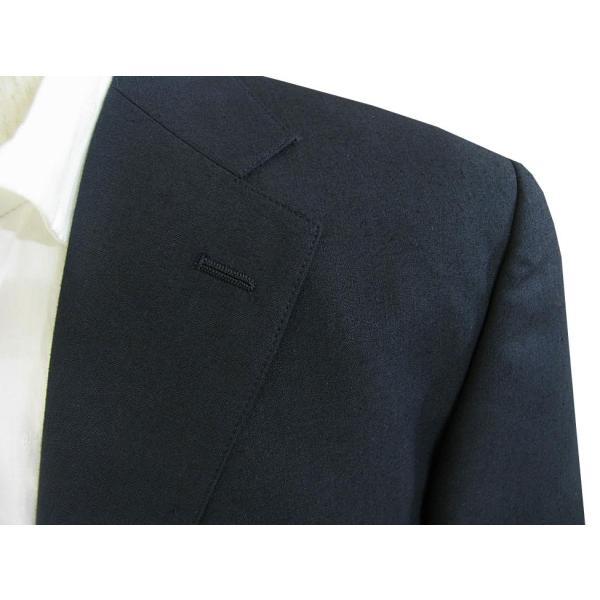 春夏 2つボタン ジャケット 麻混 メンズ 紺 ブレザー OXFORD CLASSIC 0288|tradhousefukiya|04