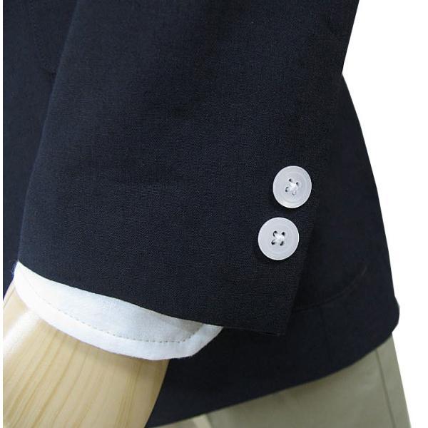 春夏 2つボタン ジャケット 麻混 メンズ 紺 ブレザー OXFORD CLASSIC 0288|tradhousefukiya|05