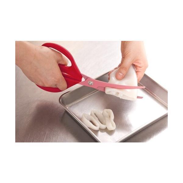 貝印 KAI キッチンはさみ 料理家の逸品 カーブ 日本製 DH2501|trafstore|03