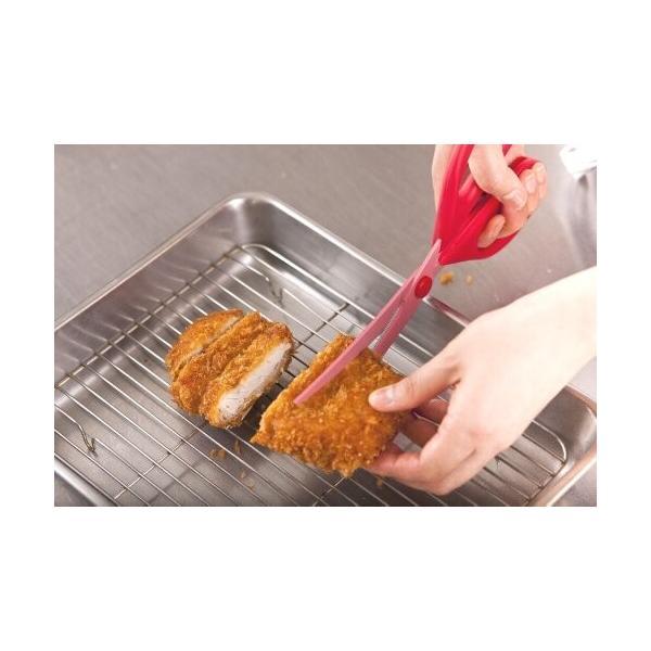 貝印 KAI キッチンはさみ 料理家の逸品 カーブ 日本製 DH2501|trafstore|07