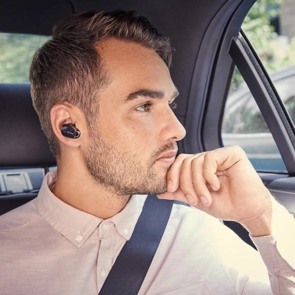 ソニー SONY 完全ワイヤレスノイズキャンセリングイヤホン WF-1000X : Bluetooth対応 左右分離型 マイク付き 2017年モ