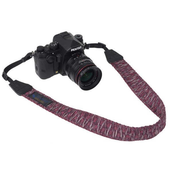 Gevaert カメラストラップ アースシャギー レッド VGV-009