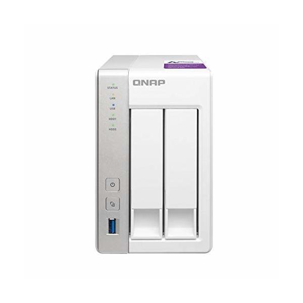 QNAP(キューナップ) TS-231P 専用OS QTS搭載 デュアルコア1.7GHz CPU 1GBメモリ 2ベイ ホーム&SOHO向け スナップショット|trafstore