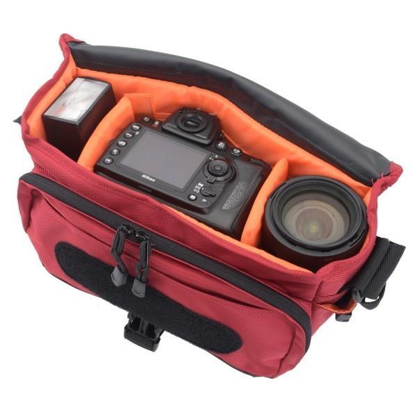 エツミ カメラバッグ ディースペック 5.6L レッド VE-3392
