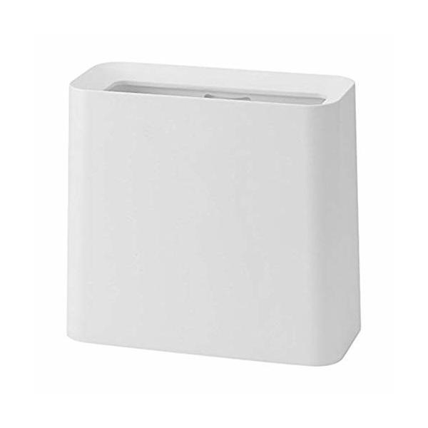 イデアコ ゴミ箱 チューブラー ハイグランデ ホワイト 11.5L|trafstore
