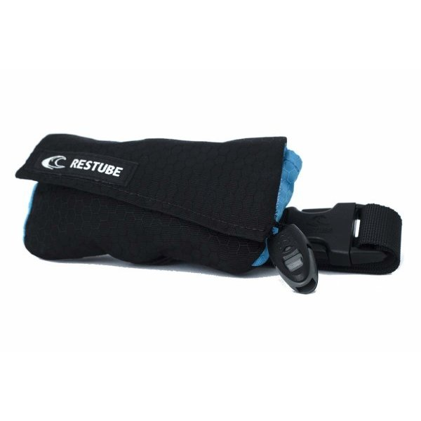 RESTUBE(レスチューブ) ライフジャケット 膨張式・緊急浮力体 スイム Black/Mint trafstore