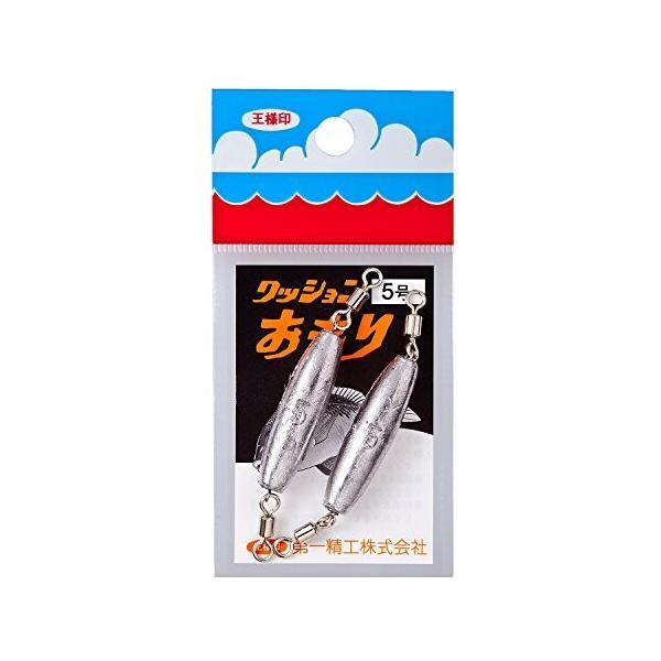 第一精工 クッションオモリ 0.5号|trafstore