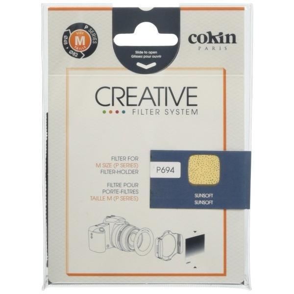 Cokin 角型レンズフィルター P694 サンソフト 84×84mm ソフト描写用 001303