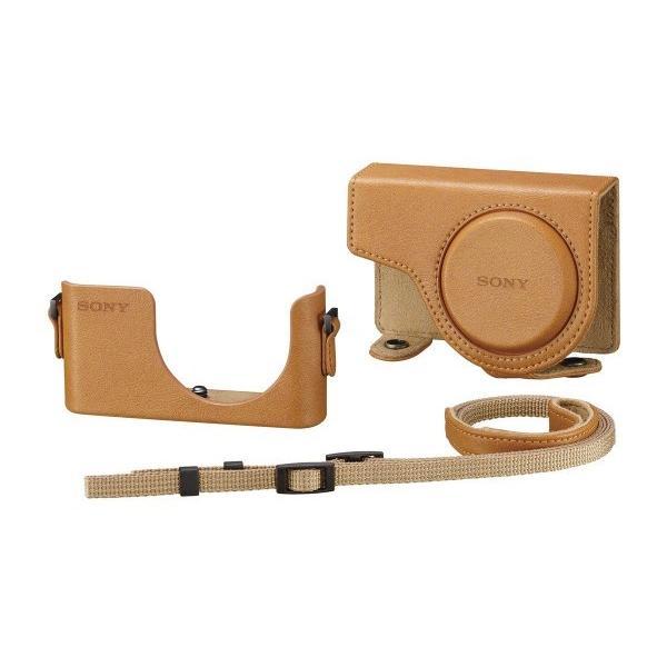 ソニー SONY デジタルカメラケース ジャケットケース ライトブラウン LCJ-WD TIC SYH