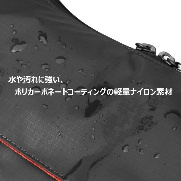 HAKUBA カメラバッグ ルフトデザイン アーバンライト ショルダーバッグ L 6.9L ブラック SLD-ULSBLBK|trafstore|02