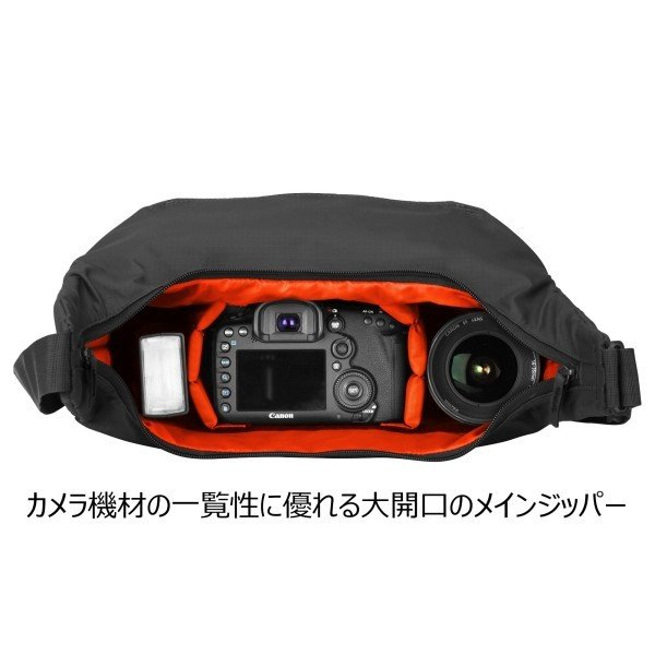 HAKUBA カメラバッグ ルフトデザイン アーバンライト ショルダーバッグ L 6.9L ブラック SLD-ULSBLBK|trafstore|05