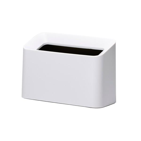 イデアコ ゴミ箱 チューブラー コットントラッシュ ホワイト|trafstore