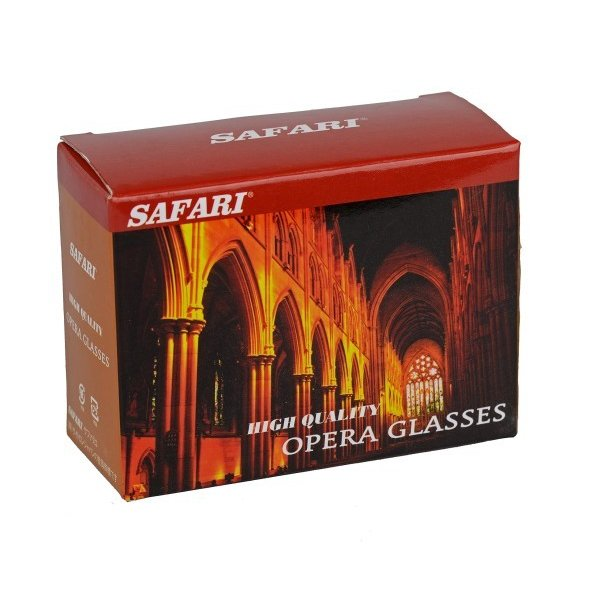 SAFARI オペラグラス 3X25 SA-56FF-L (LED付) O044