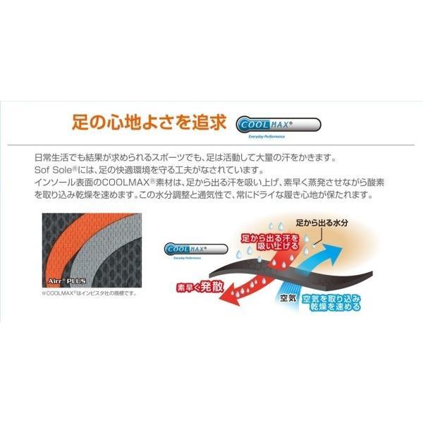 ソフソール(SOFSOLE) インソール エアープラス エアー構造 衝撃吸収強化 取替タイプ 男女兼用 XLサイズ(靴サイズ trafstore 08