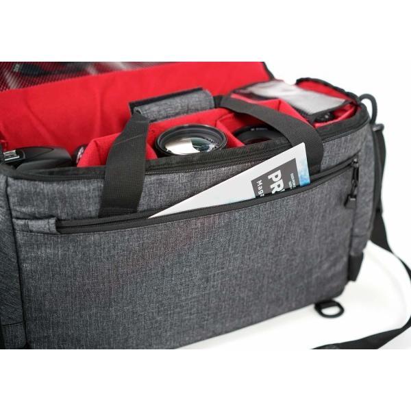 ケンコー(Kenko) aosta カメラバッグ FONTANA PRO ショルダー L 16.0L 2ウェイタイプ グレー 500×285×220mm 420×100+145×180+20m