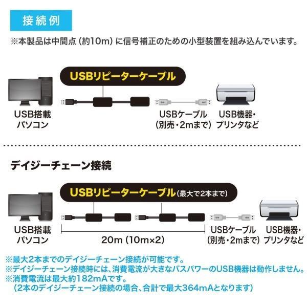 サンワサプライ USB3.0アクティブリピーターケーブル10m KB-USB-R310 trafstore 04