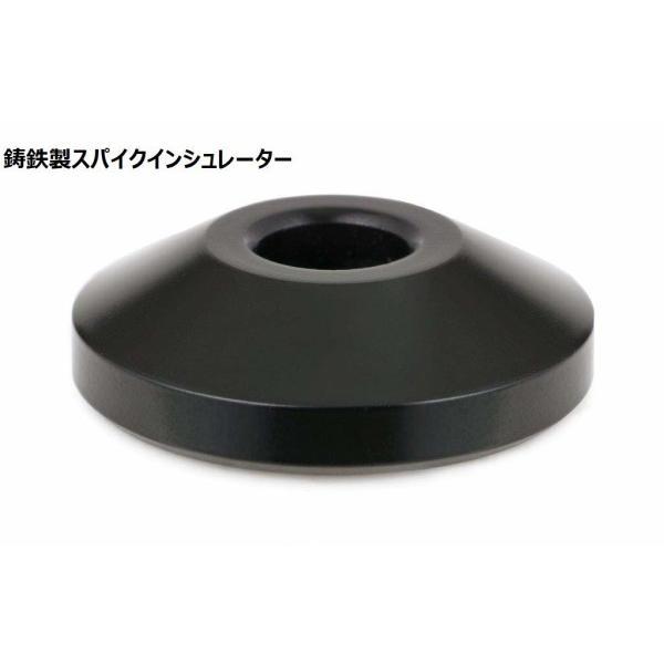 アイシン高丘  BSTシリーズ スピーカースタンド(ミッドナイトブラック)(1台) BST-70M 幅16×奥行23×高さ70cm