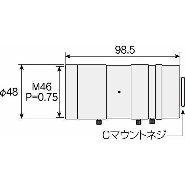 ホーザン(HOZAN) ズームレンズ Cマウント F5.6~32 作動距離150~400mm 明るさと深度調整自在 L-870