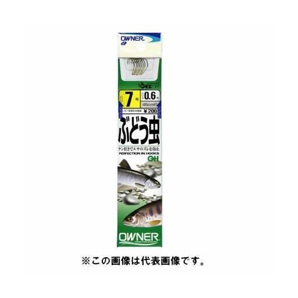 OWNER(オーナー) OH ぶどう虫 フック 7-0.4 釣り針|trafstore