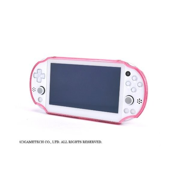 PSVita (PCH-2000) 用プロテクトカバー『ジュエリーカバー:ソフトタイプ for Vita 2000 (ブラックグリッター) 』 trafstore 05
