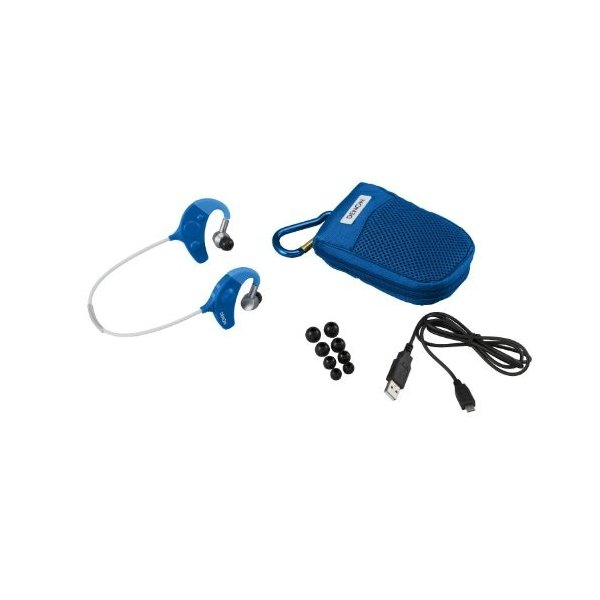 DENON EXERCISE FREAK インナーイヤーヘッドホン Bluetooth対応ワイヤレス ブルー AH-W150BUEM trafstore 02