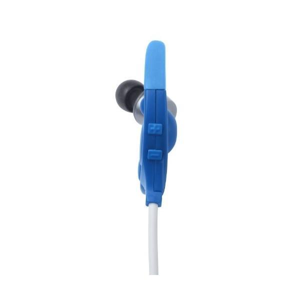 DENON EXERCISE FREAK インナーイヤーヘッドホン Bluetooth対応ワイヤレス ブルー AH-W150BUEM trafstore 03
