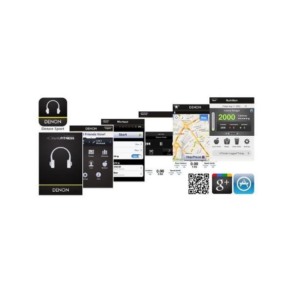 DENON EXERCISE FREAK インナーイヤーヘッドホン Bluetooth対応ワイヤレス ブルー AH-W150BUEM trafstore 04