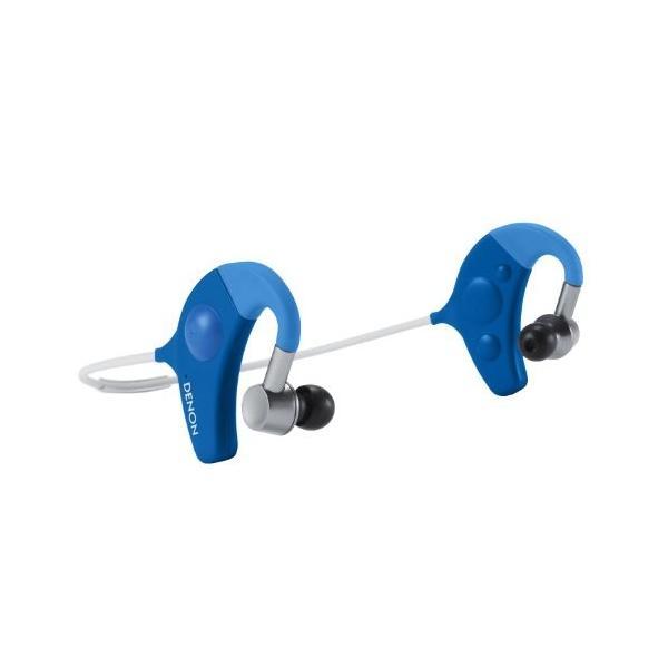 DENON EXERCISE FREAK インナーイヤーヘッドホン Bluetooth対応ワイヤレス ブルー AH-W150BUEM trafstore 06