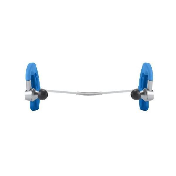 DENON EXERCISE FREAK インナーイヤーヘッドホン Bluetooth対応ワイヤレス ブルー AH-W150BUEM trafstore 09