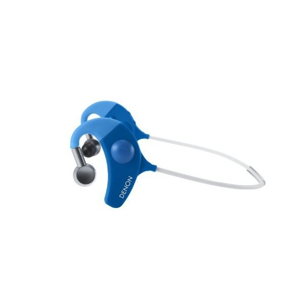 DENON EXERCISE FREAK インナーイヤーヘッドホン Bluetooth対応ワイヤレス ブルー AH-W150BUEM trafstore 10