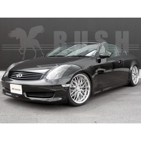 RUSH 車高調 スカイライン クーペ CPV35 車高短 モデル 選べるレート フルタップ 全長調整式 減衰力調整付 車高調 RUSH Damper LUXURY CLASS MAQSモデル|transport5252|04