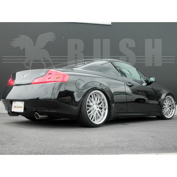 RUSH 車高調 スカイライン クーペ CPV35 前期 後期 車高短 モデル フルタップ車高調 全長調整式車高調 減衰力調整付 RUSH Damper LUXURY CLASS|transport5252|05