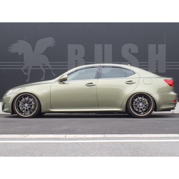 RUSH 車高調 レクサス  IS GSE21 IS350 車高短 モデル 選べるレート フルタップ車高調 全長調整式車高調 減衰力調整付 RUSH Damper SEDAN CLASS MAQSモデル|transport5252|05