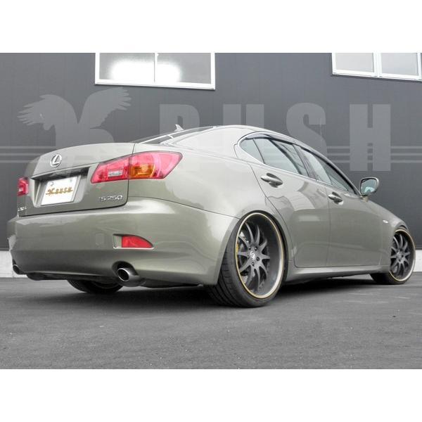 RUSH 車高調 レクサス  IS GSE21 IS350 車高短 モデル 選べるレート フルタップ車高調 全長調整式車高調 減衰力調整付 RUSH Damper SEDAN CLASS MAQSモデル|transport5252|06